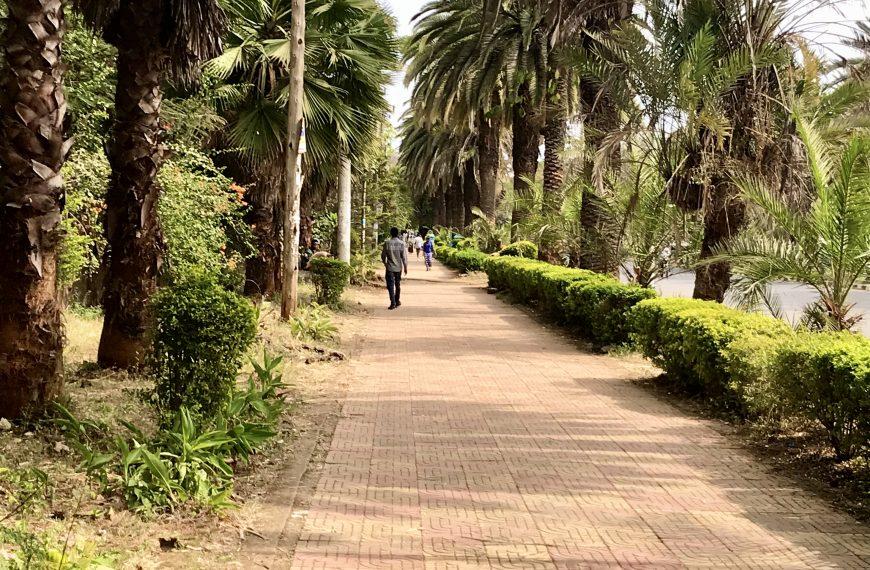 Ethiopia's lakeside resort